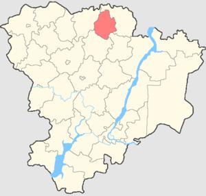 Rudnyansky District, Volgograd Oblast - Image: Volgogradskaya oblast Rudnyansky rayon