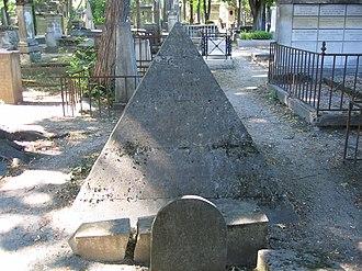Constantin François de Chassebœuf, comte de Volney - Tomb of Volney, Père Lachaise Cemetery (division 41), Paris
