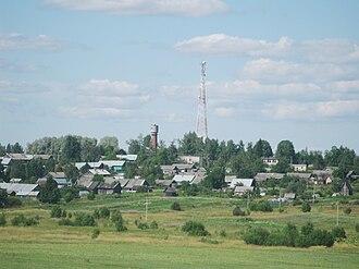 Cherepovetsky District - The selo of Voskresenskoye