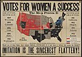 Votes for Women a Success NAWSA 1912 hand-colored map.jpg
