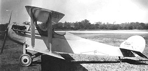 Vought VE-7 - Vought VE-7 - McCook Field, Ohio 1917