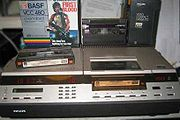 Philips V2000 format video cassette recorder
