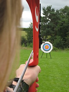 WA target shot with a compound bow (Devizes Bowmen).jpg
