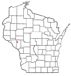 Location of Chimney Rock, Wisconsin
