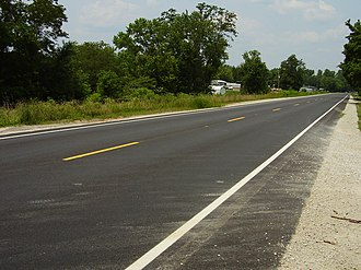West Virginia Route 2 - A stretch of WV 2 located in northeastern Cabell County