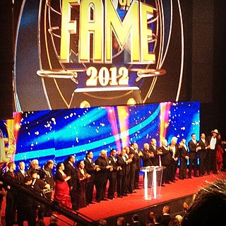WWE Hall of Fame (2012) WWE Hall of Fame induction ceremony