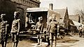 WWI; Indian soldiers taking a patient Wellcome V0030778.jpg