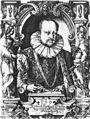 W Dietterlin - Herzog Friedrich von Württemberg Radierung 1597 (RHW204).jpg