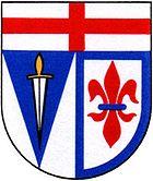 Das Wappen von Hermeskeil