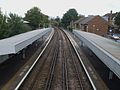 Waddon station high eastbound.JPG
