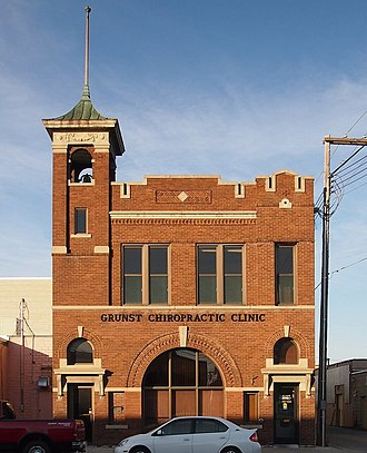 Wadena, Minnesota - Image: Wadena Fire & City Hall