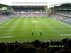 Rugby union in Malaysia - Wales playing Malaysia at the 2014 Commonwealth Games in Glasgow
