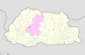 Wangdue Phodrang Thedtsho Gewog Bhutan location map.png