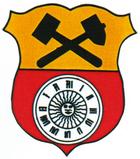 Das Wappen von Glashütte