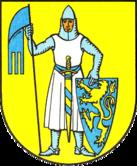 Das Wappen von Laucha an der Unstrut