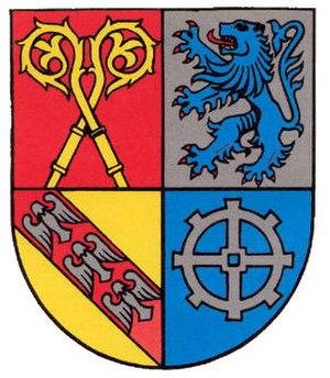 Oberthal, Saarland - Image: Wappen oberthal wnd
