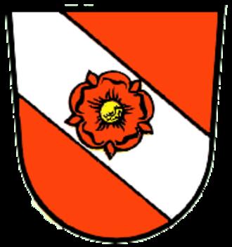 Dietfurt - Image: Wappen von Dietfurt an der Altmühl