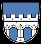 Das Wappen von Kitzingen