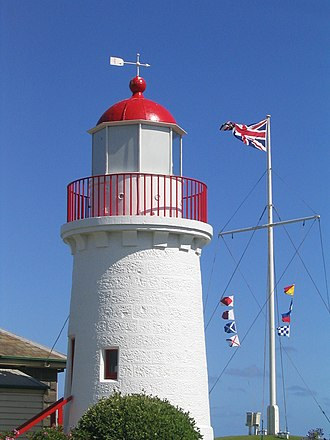 Warrnambool - Lighthouse at the Maritime Museum