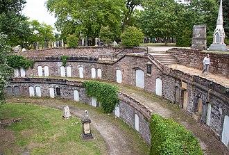 Warstone Lane Cemetery - Catacombs