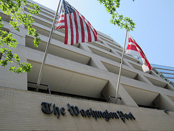 The Washington Post building in Washington, D.C.