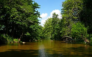 Watauga River - The Watauga River near Valle Crucis, North Carolina