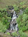 Waterfall, Glen Golly, Sutherland - geograph.org.uk - 33493.jpg
