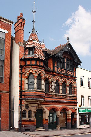Watson Fothergill - Image: Watson Fothergills Offices at 15 George Street in Nottingham