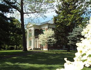 Waveland State Historic Site - Image: Waveland spring