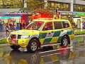 Wellington Free Ambulance, Mitsubishi Pajero.jpg
