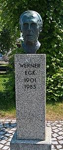 Werner Egk - Denkmal Auchsesheim