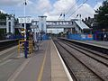 West Hampstead Thameslink stn slow look north June 09.JPG