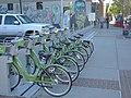 West at GREENbike Squatter Station, Apr 15.jpg