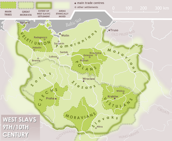 West Slav tribes in 9th-10th centuries West slavs 9th-10th c..png