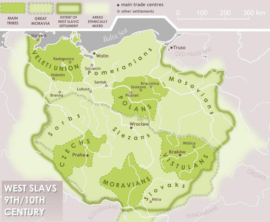 West slavs 9th-10th c.