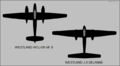 Westland Welkin NF.II and Westland J.8 top-view silhouettes.png