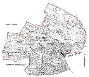 Dagoretti North Constituency - Westlands Constituency 1969-2012 (Kenya)