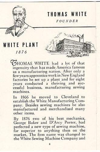 White Sewing Machine Company - White Sewing Machine Company 1941 company book