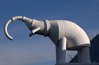 Camberley - Camberley's White Elephant