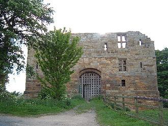 Whorlton, North Yorkshire - Image: Whorlton Castle