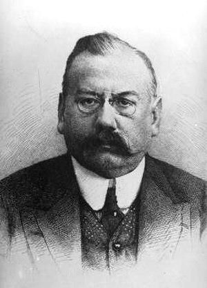Franz Wickhoff - Portrait of Wickhoff.