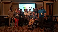 WikiFranca at Wikimania 2018 (6).jpg