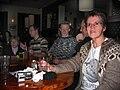 Wikipedians in Iceland Cafe Paris April 2008 3.jpg