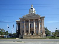 Wilcox County Courthouse (South face).JPG