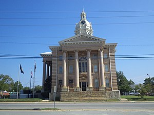 Wilcox County Courthouse (Abbeville, Georgia) - Image: Wilcox County Courthouse (South face)