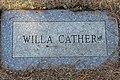 Willa Cather-Gravestone-Old Burying Ground, Jaffrey, NH.jpg