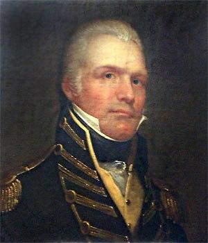 William Eaton (soldier) - William Eaton, c.1807, portrait by Rembrandt Peale, (1778-1860)