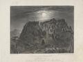 "William Blandowski's 'Diogenes Monument ""Anneyelong"" looking Sth towards Mt Macedon'.png"