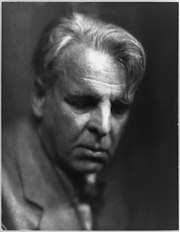 William Butler Yeats, 1933. Unknown photographer. U.S. Library of Congress.