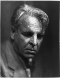 William Butler Yeats, 1933.